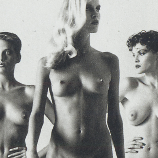 Helmut Newton Found Unbound ? Erotic Fashion Photography