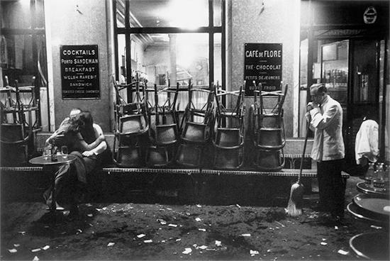 dennis stock photography. Magnum Photographer Dennis Stock - Café de Flore 1958