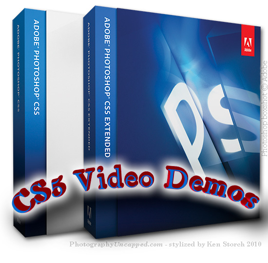 Demo Videos Adobe Photoshop CS5 New Features Creative Suite Master