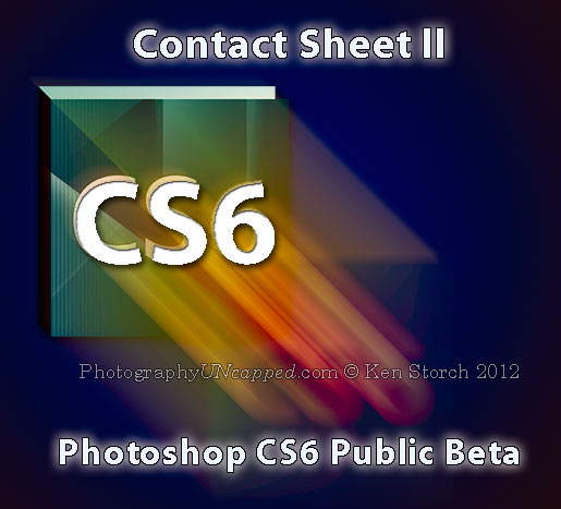 Contact Sheet ll is Back in Photoshop CS6 Beta