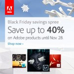 Adobe Discounts + Deals for Black Cyber Whatever Monday Friday Holiday Sale Day